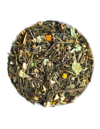 зеленый чай голубое небо